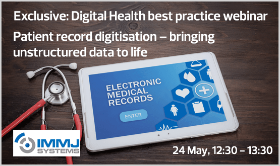 Patient record digitisation – bringing unstructured data to life