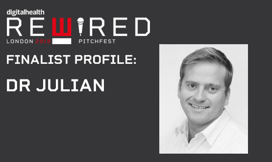 Digital Health Rewired Pitchfest 2019 finalist profile: Dr Julian