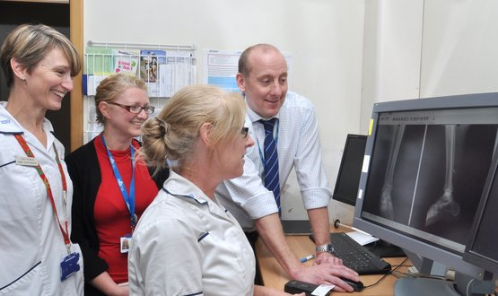 Poole Virtual Fracture Clinic
