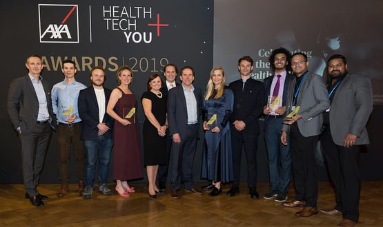 Winners announced for this year's AXA Health Tech and You awards