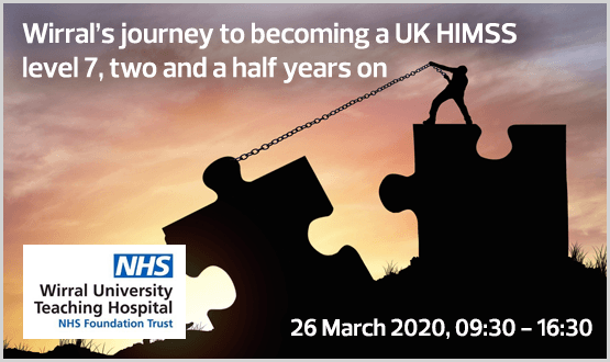 Wirral's journey to becoming a UK HIMSS level 7
