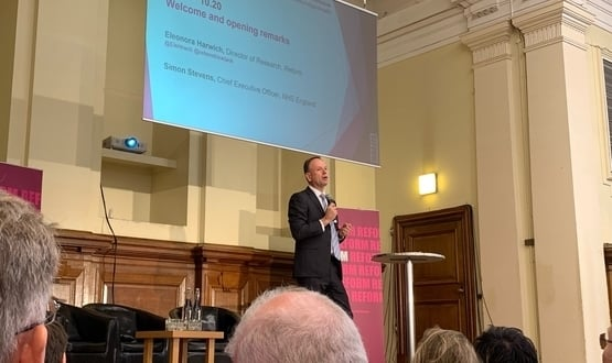 NHSE chief exec says data sharing restrictions will enhance safety