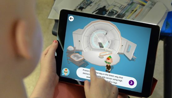 How a daughter's cancer treatment inspired an interactive app for sick kids