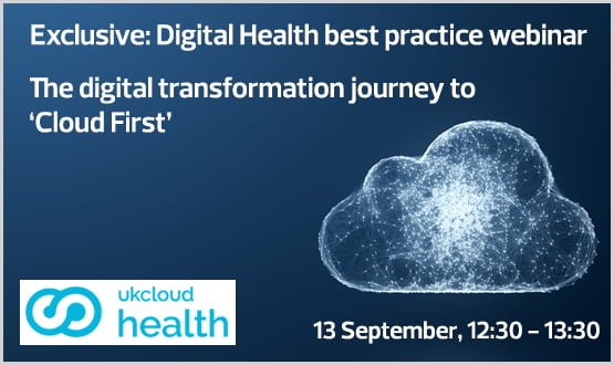 Webinar: The digital transformation journey to 'Cloud First'