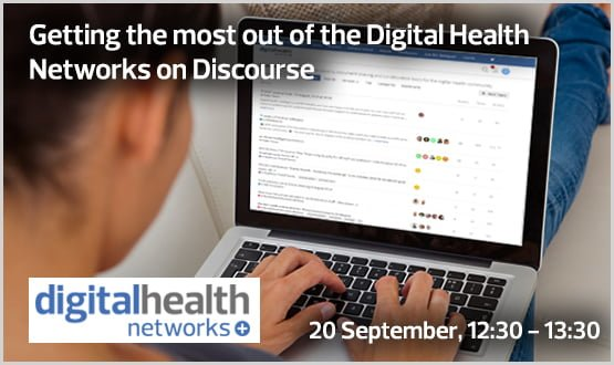 Webinar: Getting the most out of the Digital Health Networks on Discourse