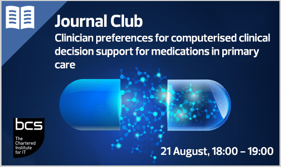 Journal Club: Clinician preferences for computerised clinical decision support for medications in primary care