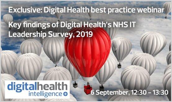 Webinar: Key findings of Digital Health's NHS IT Leadership Survey, 2019