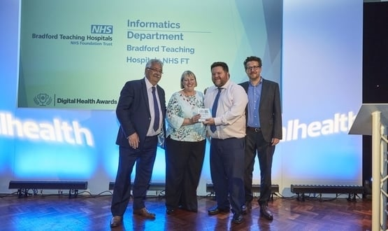 Digital Health Award winner profile: Bradford Teaching Hospitals