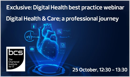 Webinar: Digital Health & Care a professional journey
