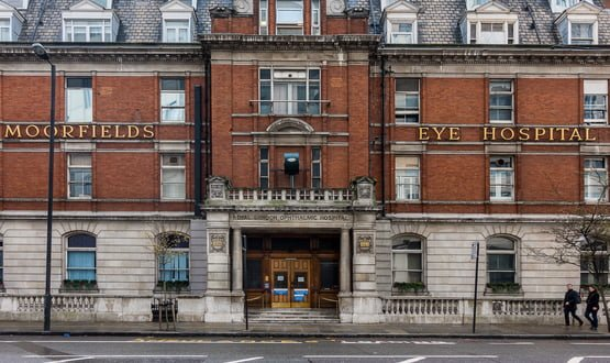 Moorfields Eye Hospital signs five-year deal with Civica