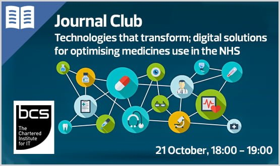Journal Club: Technologies that transform: digital solutions for optimising medicines use in the NHS