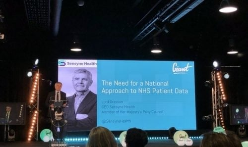 Lord Drayson at Giant Health