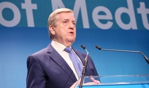 Pat Breen, Ireland's Minister for Trade, Business & Employment.