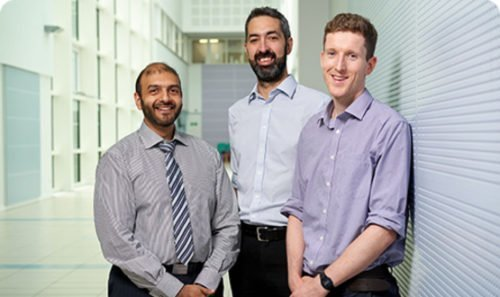 The team behind UHB's PICS tool