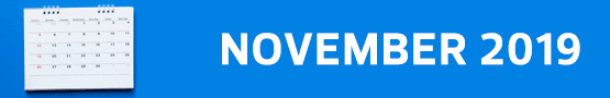 Review of 2019 - November