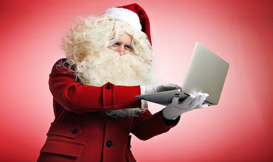 Santa given a long list by Digital Health Network members