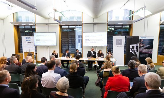 Driving innovation a key theme at Parliament and Health Tech conference