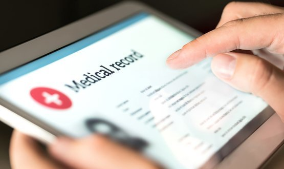 Online medical record
