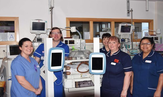 Worcestershire Royal to give new mums iPads to help with bonding