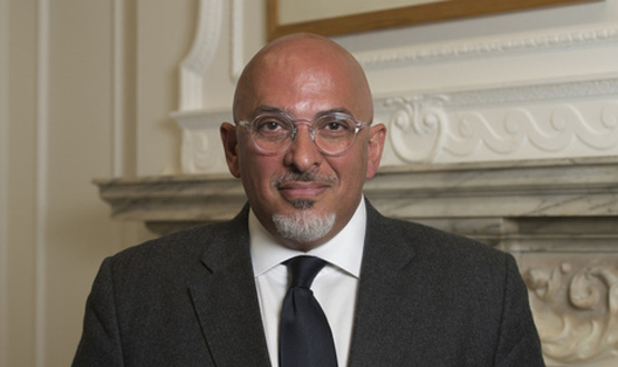 Life Sciences Minister Nadhim Zahawi
