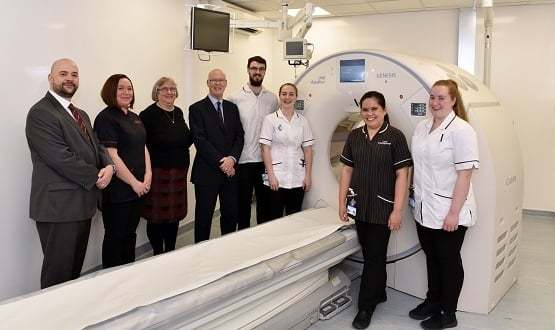 Frimley Park Hospital installs new 'deep learning' CT scanners