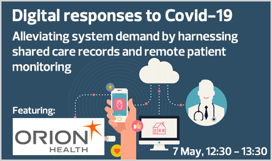 Digital responses to Covid-19 – Alleviating system demand by harnessing shared care records and remote patient monitoring