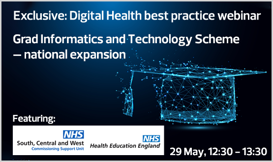 Webinar: NHS Graduate Digital, Data & Technology Scheme