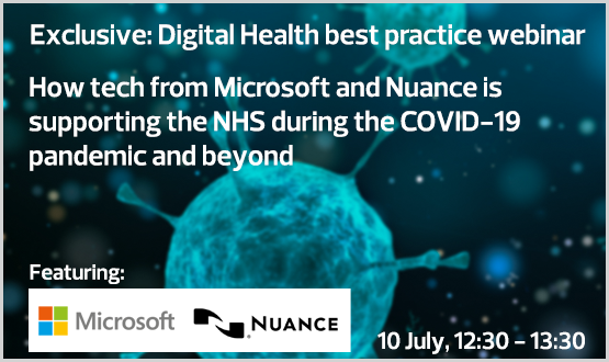 How tech from Microsoft and Nuance is supporting the NHS during the COVID-19 pandemic and beyond