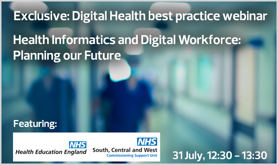 Webinar: Health Informatics and Digital Workforce: Planning our Future