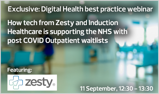 How tech from Zesty and Induction Healthcare is supporting the NHS with post COVID Outpatient waitlists