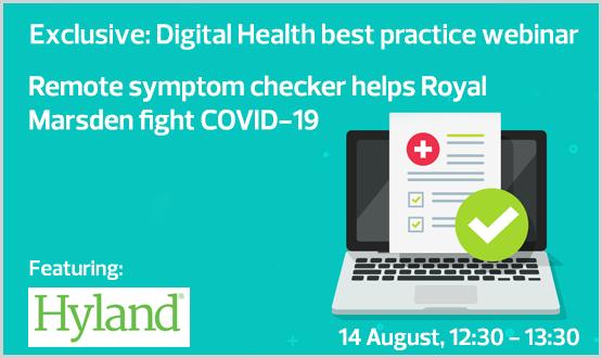 Remote symptom checker helps Royal Marsden fight COVID-19