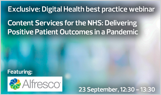 Content Services for the NHS: Delivering Positive Patient Outcomes in a Pandemic