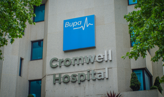 Visionable partners with Bupa Cromwell Hospital for video platform