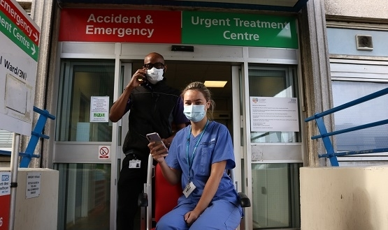 E-portering Infinity app rolled out at Ealing hospital