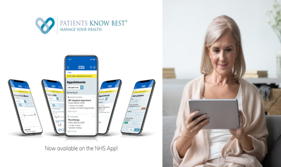 Patients Know Best becomes first PHR integrated into NHS App