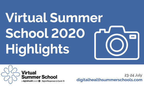 Digital Health Virtual Summer School attendees share their highlights