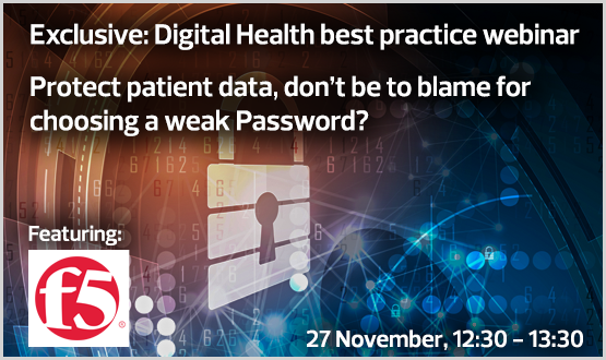 Protect patient data, don't be to blame for choosing a weak Password?