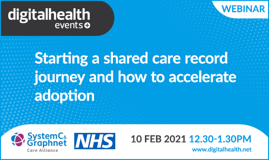 Starting a shared care record journey and how to accelerate adoption