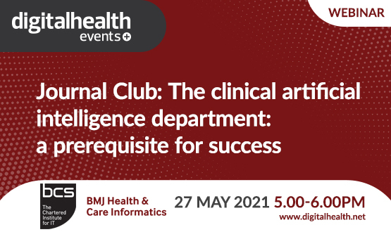 Journal Club: The clinical artificial intelligence department: a prerequisite for success