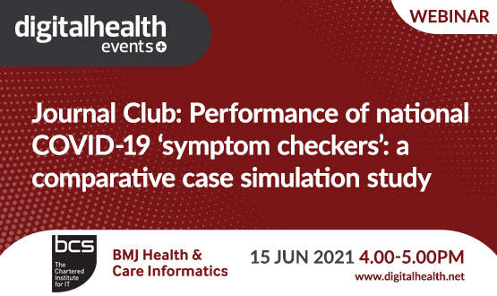 Journal Club: Performance of national COVID-19 'symptom checkers': a comparative case simulation study