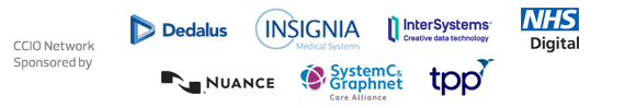 CCIO Network - Sponsored by Dedalus, Insignia, InterSystems, NHS Digital, Nuance, System C & Graphnet Care Alliance and TPP
