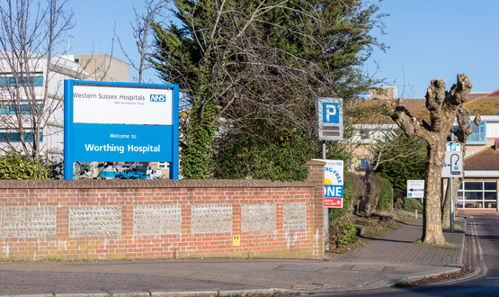 Western Sussex Hospitals signs 10-year deal with System C