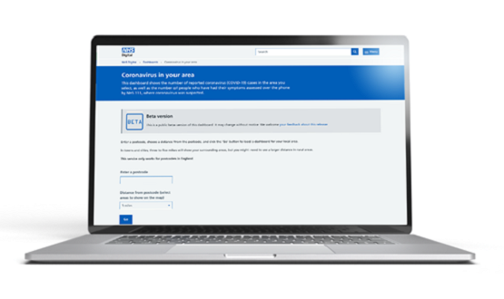 NHS Digital's online Covid-19 dashboard used three million times