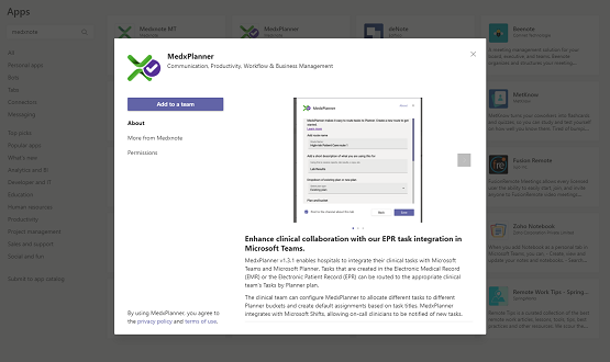 Medxnote launches new Planner app on Microsoft Teams app store