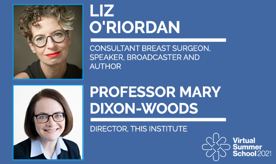 Liz O'Riordan revealed as one of the first Summer School 2021 keynotes