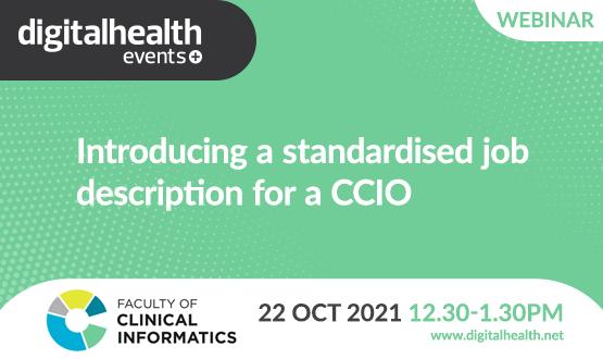 Introducing a standardised job description for a CCIO