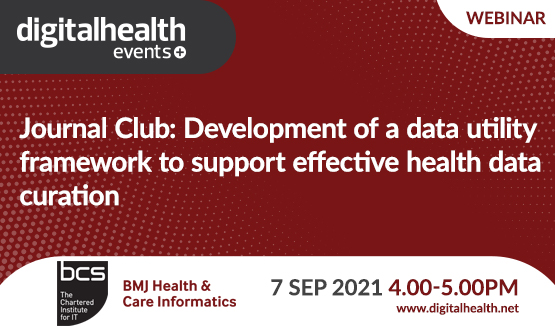 Journal Club: Development of a data utility framework to support effective health data curation