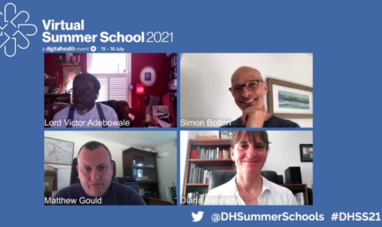 Virtual Summer School 2021: Digital NHS chiefs say they are here to help