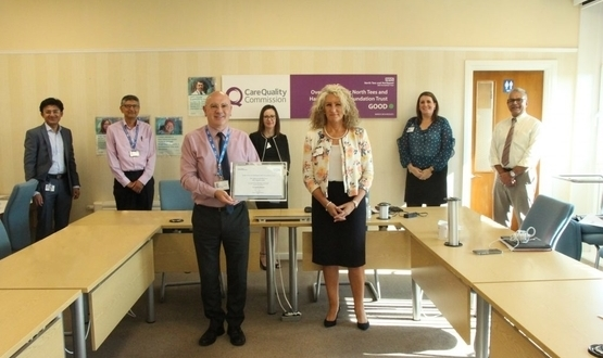 North Tees and Hartlepool receives GDE digital leader award