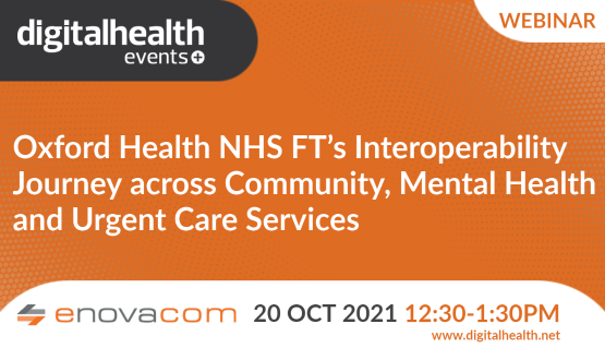 Oxford Health NHS FT's interoperability journey across community, mental health and urgent care services